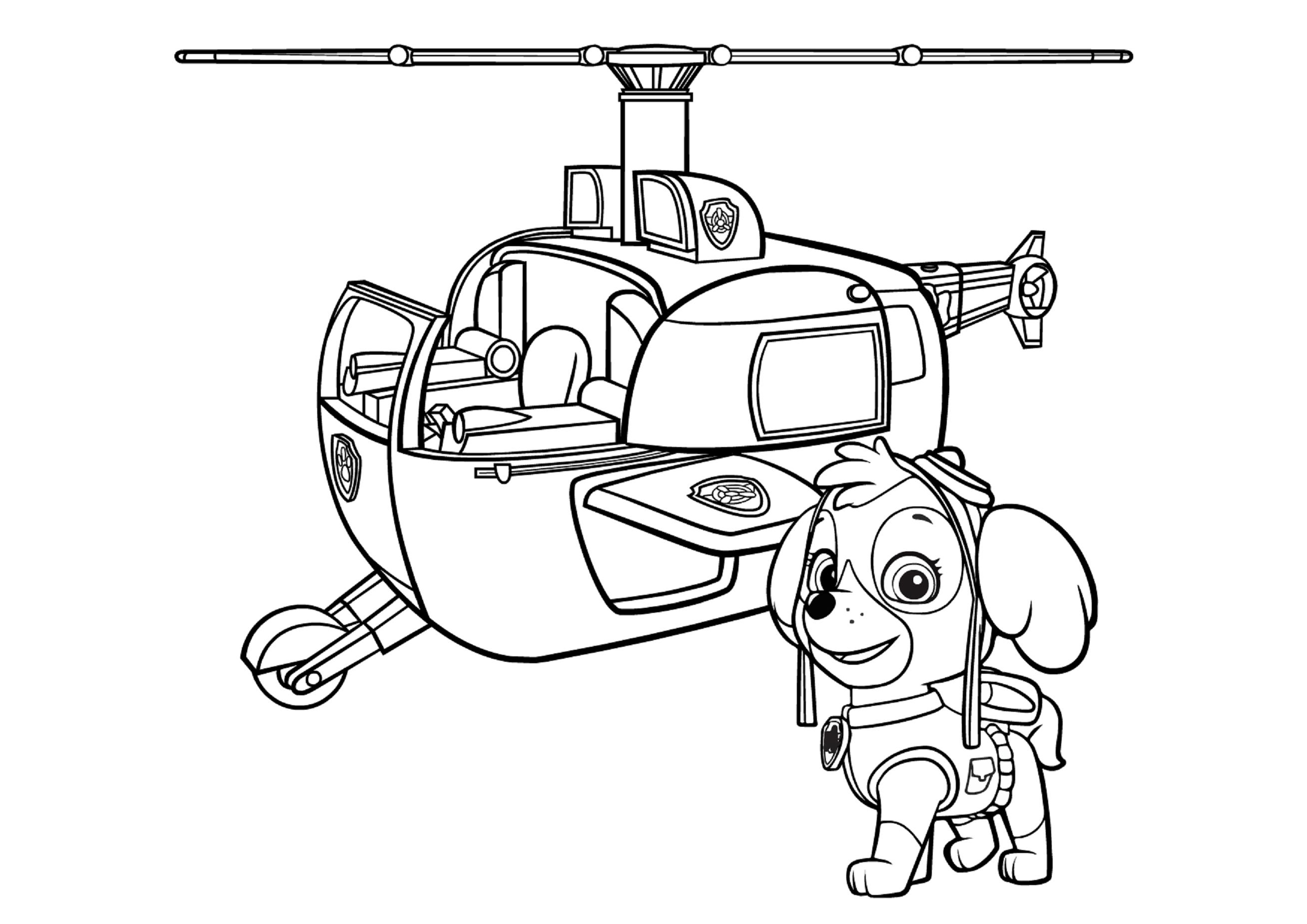 раскраски щенячий патруль распечатать бесплатно формат а4 онлайн